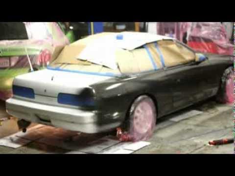 Nissan 240sx   DIY paint job