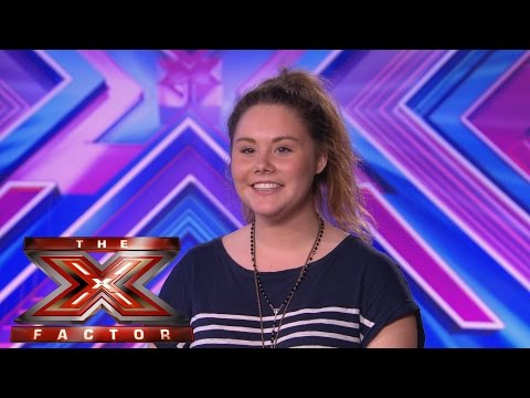 Oceane Guyot sings Maria Carey's Emotions - Audition Week 1 - The X Factor UK 2014