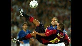 Rivaldo Hat Trick Barcelona X Valencia 2001