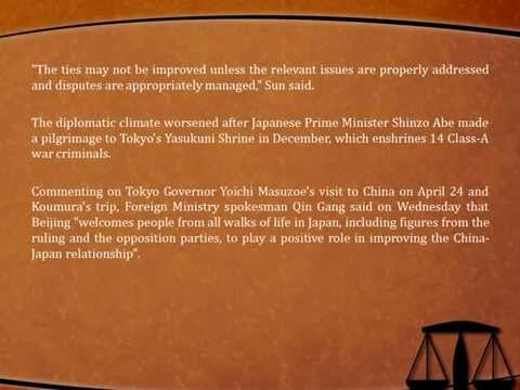 The Avanti Group Law articles: Tokyo lawmakers begin China visit amid tensions
