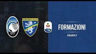 La videoformazione nerazzurra in Atalanta-Frosinone