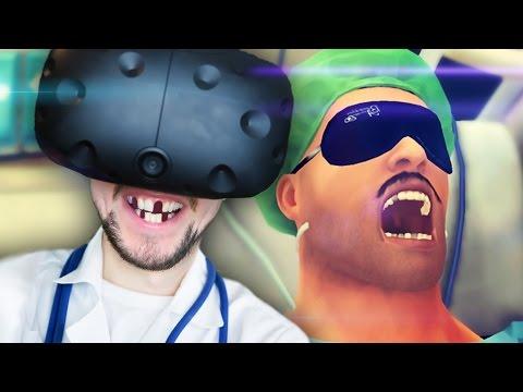 SURGERY ON THE MOVE | Surgeon Simulator VR #4 (HTC Vive Virtual Reality)