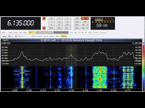 14 04 2014 Radio Sanaa Yemen in English 1820 on 6135 via SDR receiver in Balladolid, Spain