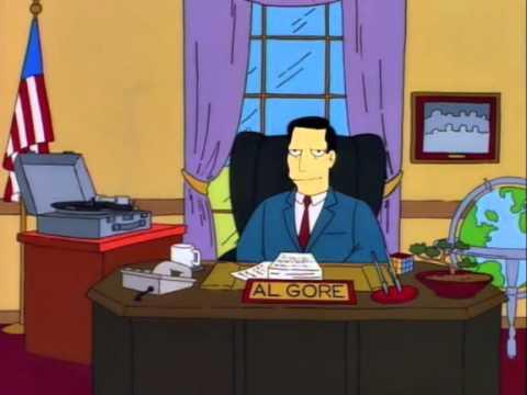 Al Gore Celebrating