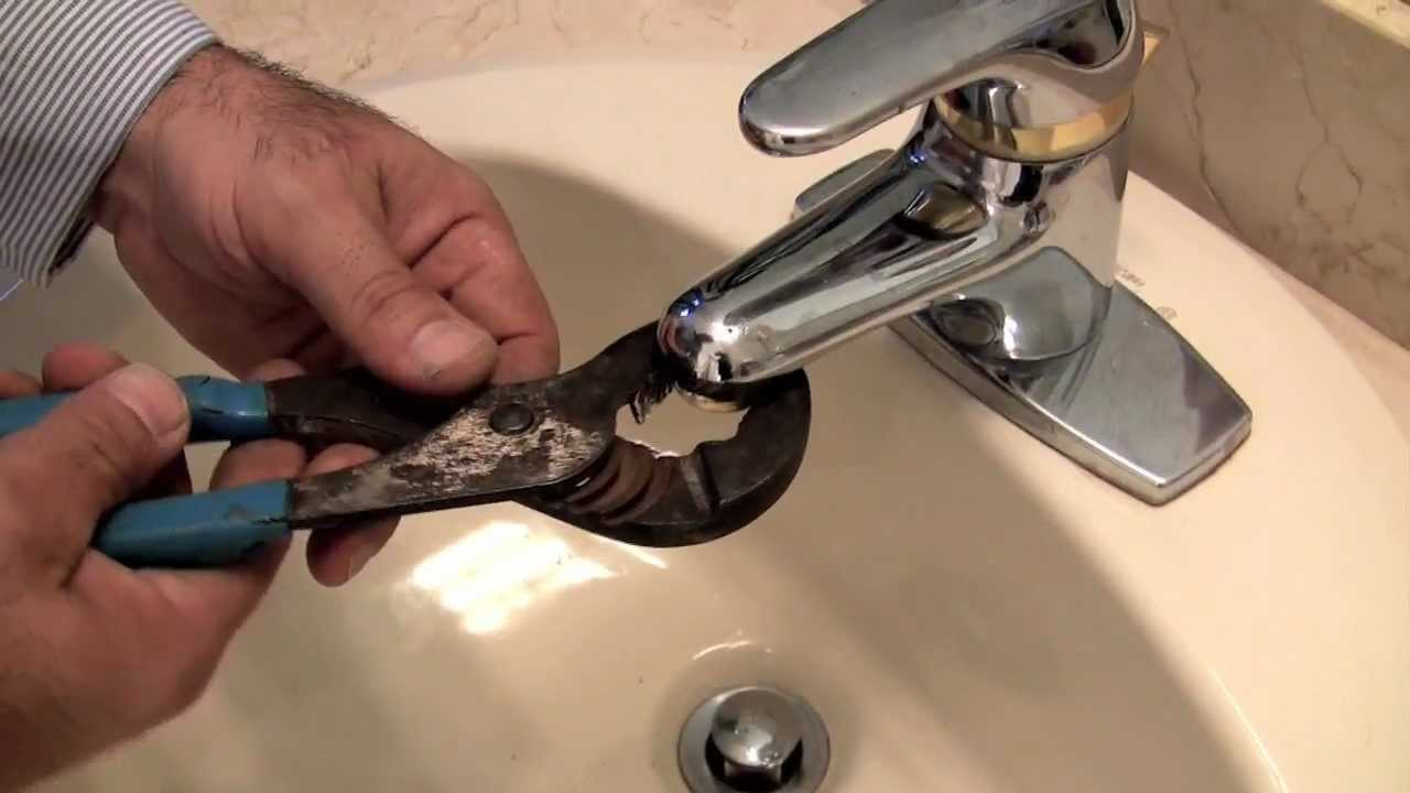how to fix a faucet low water pressure youtube