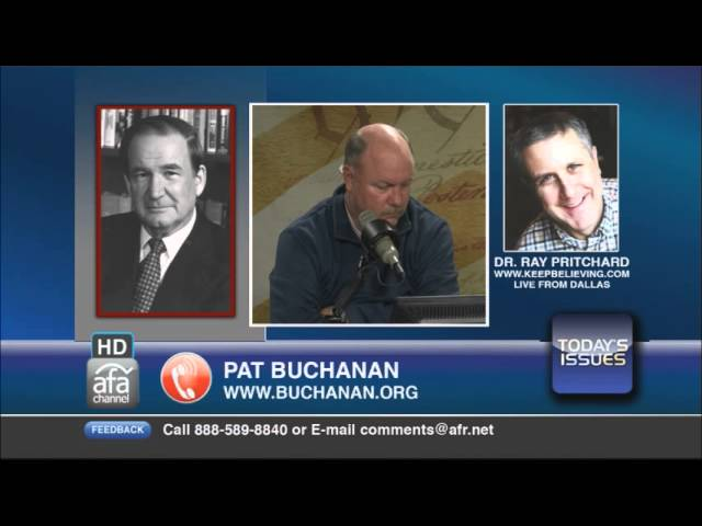 Pat Buchanan discusses various current political issues
