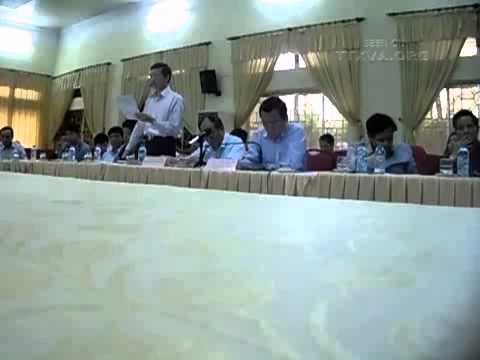 Vũ Hồng Khanh đối thoại với dân Dương Nội ngày 14/03/2013
