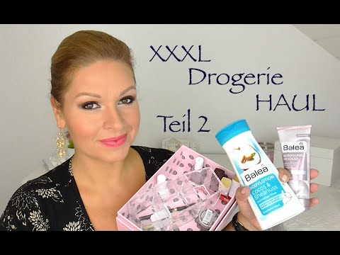 XXXL Drogerie Haul Juli 2014 TEIL 2  deutsch HD by Mamaco