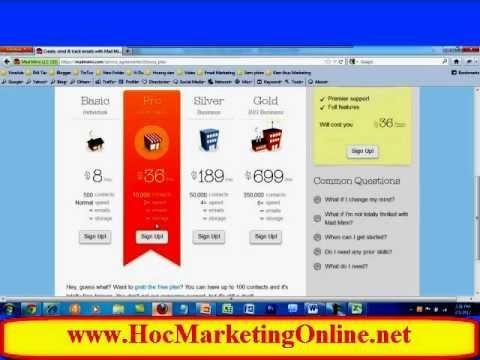 Hướng dẫn Email Marketing Bằng MADMIMI
