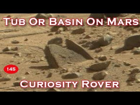 Martian Tub Or Water Basin Photographed By NASA Curiosity Rover