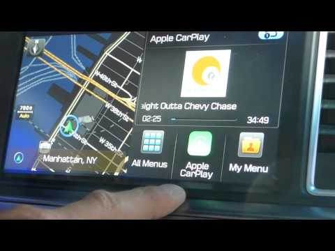 Apple CarPlay Demo in 2015 Hyundai Sonata at NY International Auto Show