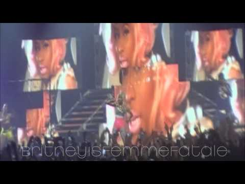 02.Beez In The Trap+Stupid Hoe+Dance A$$ - Nicki Minaj Live In Milan