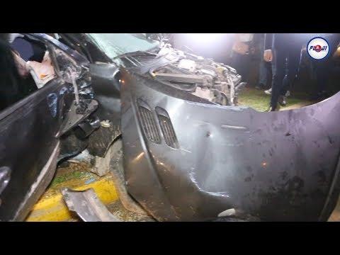 أول حادثة سير خطيرة بالدار البيضاء في العام الجديد 2018