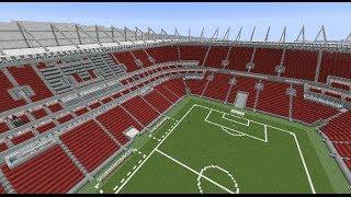 Minecraft MEGABUILD Arena Pernambuco (World Cup 2014