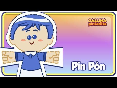 PIN PÓN - Gallina Pintadita OFICIAL - Canción Infantil