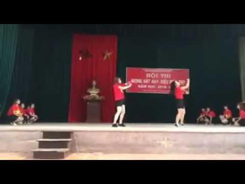 TIẾN LÊN VIỆT NAM ƠI + GANGNAMSTYLE + CHÚNG TA KHÔNG THUỘC VỀ NHAU trường THPT Bắc Kiến Xương