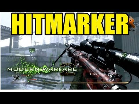 MW2 Trickshot HITMARKER | Freestyle Replay