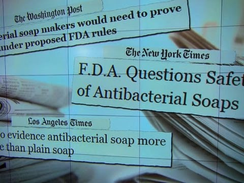 FDA: Anti-bacterial soaps should prove safety and efficacy