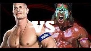 WWE 2K14: John Cena Vs Ultimate Warrior HD