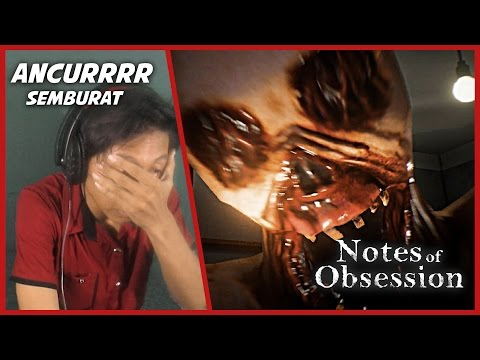 Setan Buntung Megelno - Jump Scare Lucu | Note of Obsession Horor game Indonesia