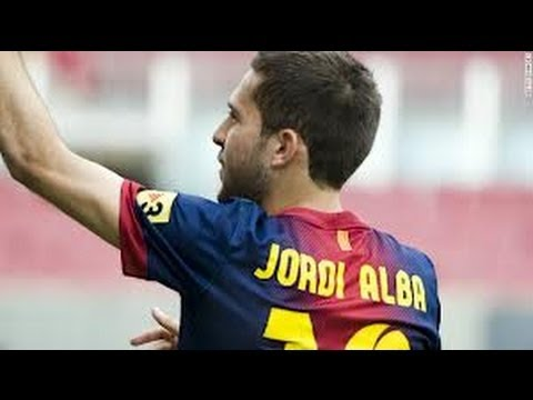 Jordi Alba speed and goals 2013