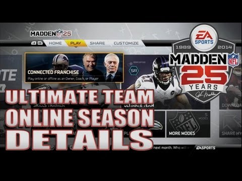 Madden 25 Ultimate Team ONLINE SEASONS MODE EXPLAINED!!!!! Spoiler Within The Screenshot Explained
