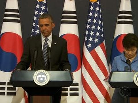 Ukraine crisis looms over Obama Asia trip