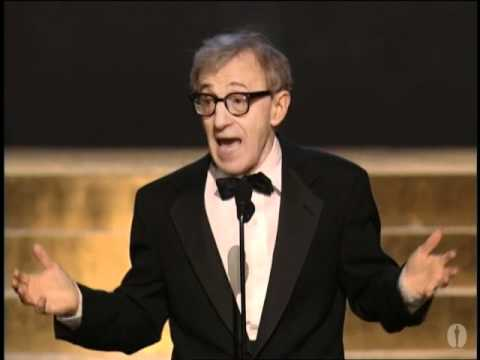 "Woody Allen introducing ""Love Letter to New York in the Movies"" in 2002"