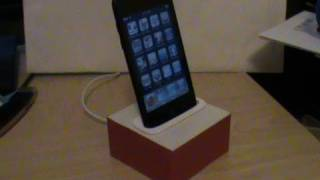 How To Make An IPhone/iPod Dock