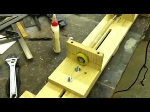 Homemade Wood Lathe 1 Youtube
