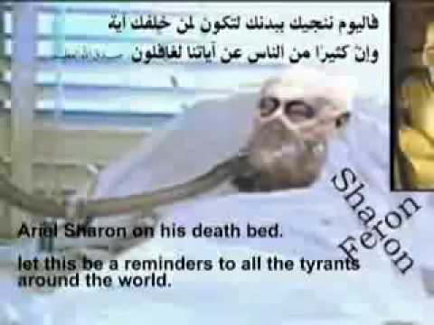 Ariel Sharon On Death Bed
