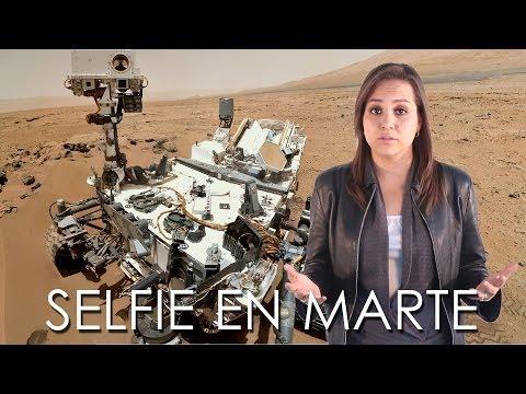Curiosity cumple un año marciano y se toma una selfie