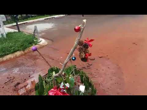 Vídeo Povo do Botafogo dá presente de Natal para a Prefeitura