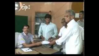 YS Jagan files nomination ;Nara Lokesh Files Nomination On Behalf of Chandrababu