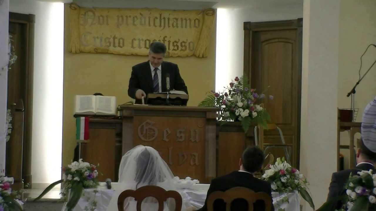 Auguri Matrimonio Tratti Dalla Bibbia : Ardea culto di matrimonio nella chiesa pentecostale youtube