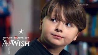 9-Year-Old Fan Teaches J.J. Watt About True 'Will Power' | My Wish | ESPN Archives