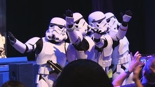 """Stormtroopers Sing """"Let It Go"""" From Frozen Plus Other"""