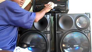 Mini System Sony 1500w Rms