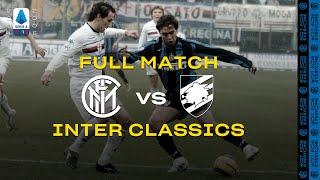 INTER CLASSICS | FULL MATCH | INTER vs SAMPDORIA | 2004/05 SERIE A TIM - MATCHDAY 18  ⚫🔵🇮🇹???