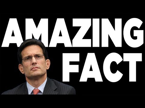 Eric Cantor's Spending - The AMAZING FACT That Explains Everything