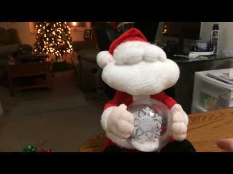 Santa Claus Animated Singing Snow Globe! (Merry Christmas!!)