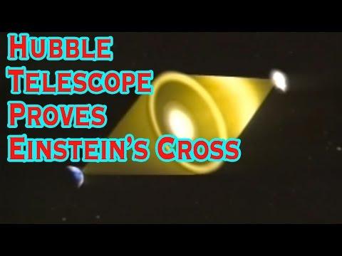 Hubble Telescope Proves Einstein's Cross
