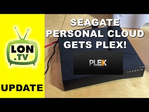 Plex on the Seagate Personal Cloud and New Firmware Performance Improvements