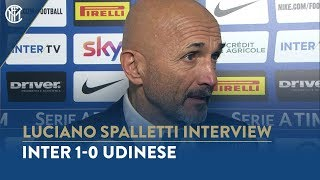 """INTER 1-0 UDINESE   LUCIANO SPALLETTI INTERVIEW: """"It was a deserved win"""""""