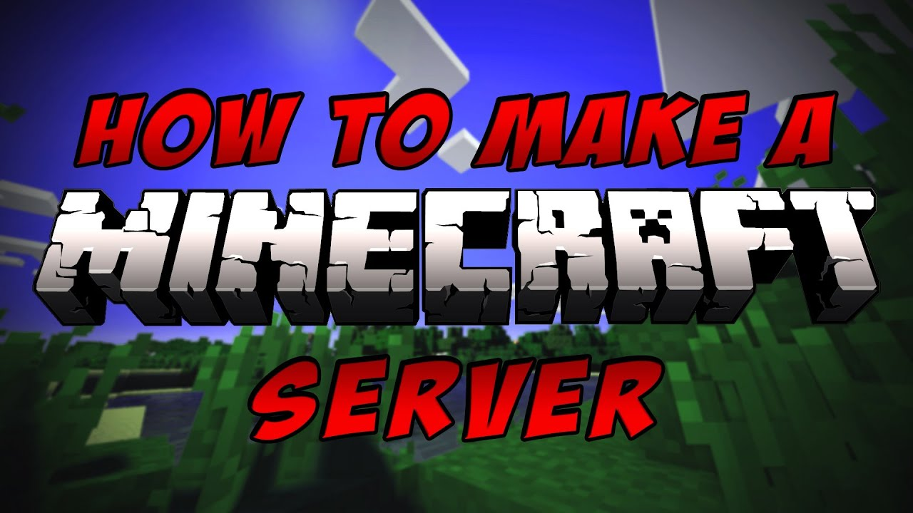 how to create your own minecraft server mac