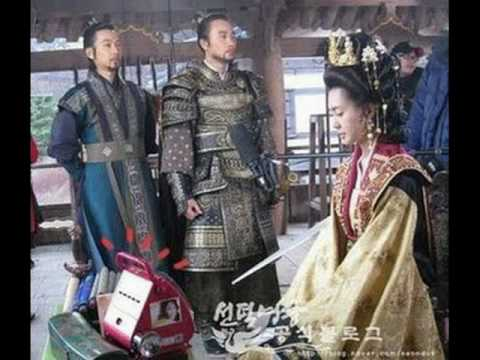 queen seon deok mv. behind the scene