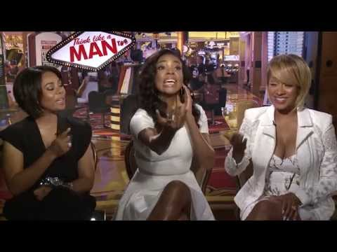 Gabrielle Union, LaLa Anthony, Regina Hall with Big Al Sams