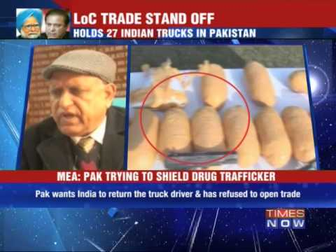 Pakistan halts cross border trade in Kashmir