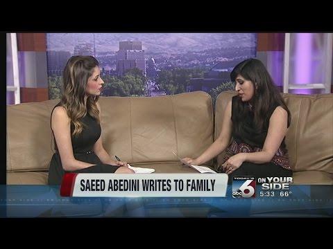 Saeed Abedini writes to family