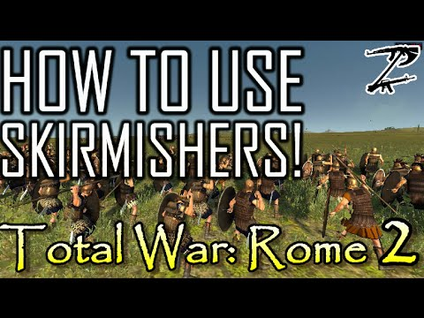 HOW TO USE SKIRMISHERS! - Total War: Rome 2 Tutorial